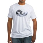 Cutting Horse Fitted T-Shirt