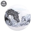 """Cutting Horse 3.5"""" Button (10 pack)"""