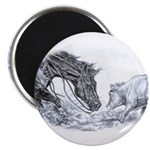 """Cutting Horse 2.25"""" Magnet (100 pack)"""