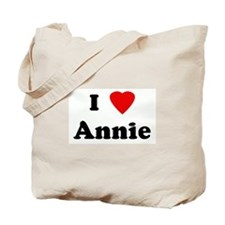I Love Annie Tote Bag