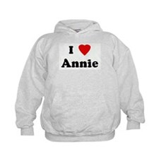 I Love Annie Hoodie