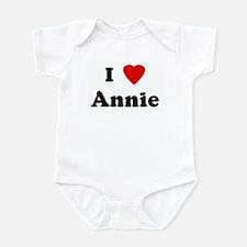 I Love Annie Onesie