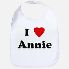 I Love Annie Bib