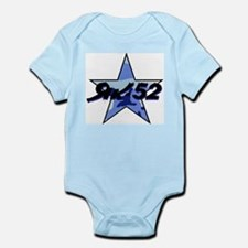 Yak 52 Blue Camo Infant Creeper