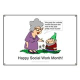 Social work month Banners