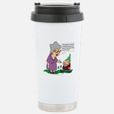 Party For A Month Stainless Steel Travel Mug
