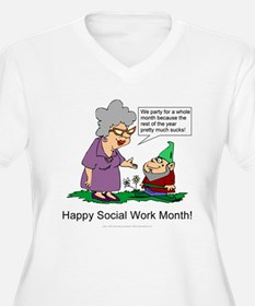 Party For A Month T-Shirt