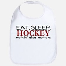 Eat Sleep Hockey Bib