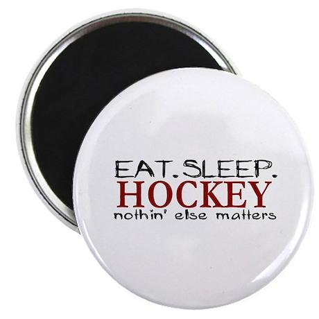 Eat Sleep Hockey Magnet