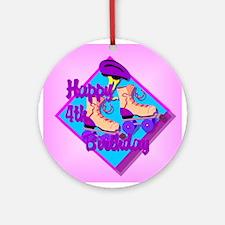 4th Birthday Ornament (Round)