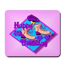 4th Birthday Mousepad