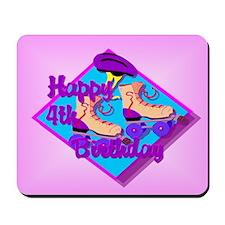 4th Birthday Mousepad