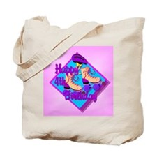 4th Birthday Tote Bag