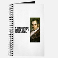 "Irving ""Woman's Life"" Journal"