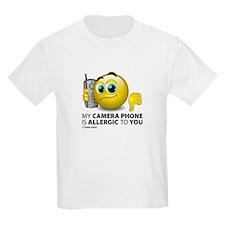 Camera Phone Kids T-Shirt