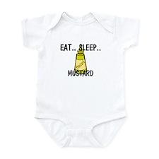 Eat ... Sleep ... MUSTARD Infant Bodysuit