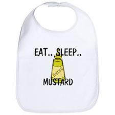 Eat ... Sleep ... MUSTARD Bib