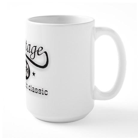 Vintage 1953 Birthday Large Mug