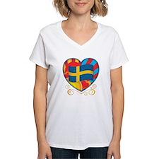 Swedish Heart Shirt