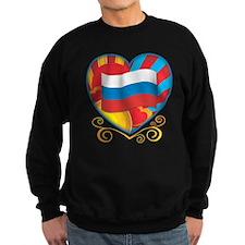 Russian Heart Sweatshirt