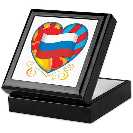 Russian Heart Keepsake Box
