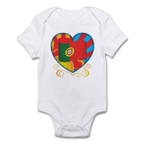 Portugese Heart Infant Bodysuit