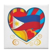 filipino Tile Coaster