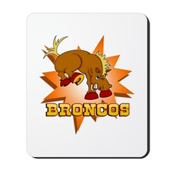 Broncos Mousepad