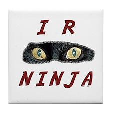 I R Ninja Tile Coaster