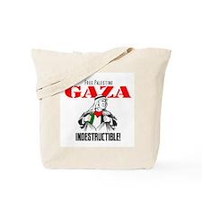 Gaza indestructible Tote Bag
