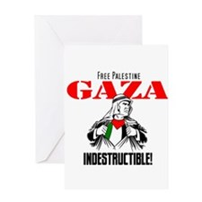 Gaza indestructible Greeting Card