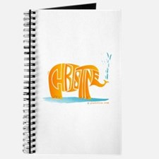 Christine (Orange Elephant 1) Journal