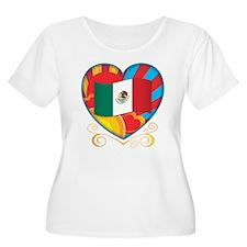 Mexican Heart T-Shirt