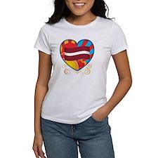 Latvian Heart Tee