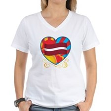 Latvian Heart Shirt