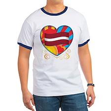 Latvian Heart T