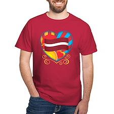 Latvian Heart T-Shirt