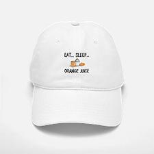 Eat ... Sleep ... ORANGE JUICE Baseball Baseball Cap