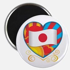 Japanese Heart Magnet