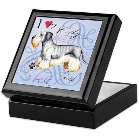 Cesky Terrier Keepsake Box