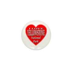 Yellowstone National Park Mini Button (10 pack)