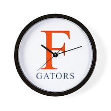 F | Gators - Wall Clock