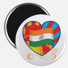 Indian Heart Magnet
