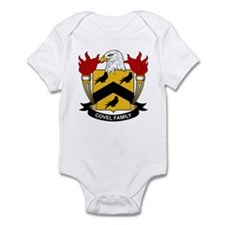 Covel Family Crest Infant Bodysuit