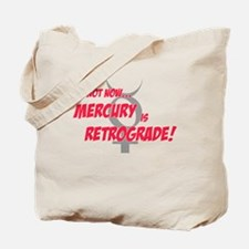 Mercury Retrograde Tote Bag