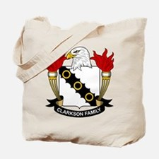 Clarkson Family Crest Tote Bag