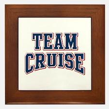Team Cruise Personalized Custom Framed Tile