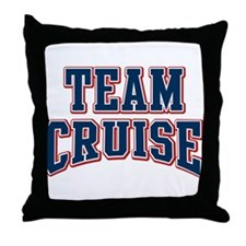 Team Cruise Personalized Custom Throw Pillow