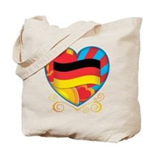 German Heart Tote Bag