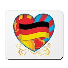 German Heart Mousepad